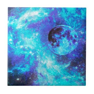 Blue Moon Kleine Quadratische Fliese