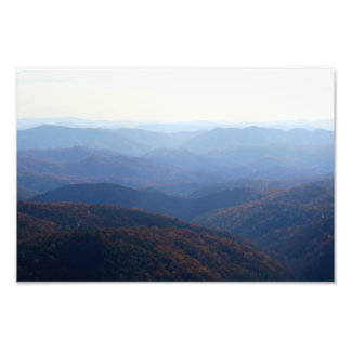 Blue Ridge Mountains, North Carolina Fotodruck