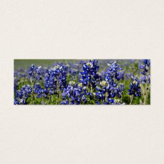 Bluebonnet-Blume Mini Visitenkarte