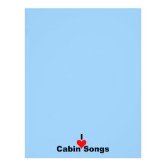 Bluegrass-Musik: (Herz) Lieder Kabinen-I 21,6 X 27,9 Cm Flyer