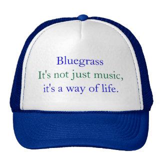 Bluegrass: Nicht gerade Musik, eine Lebensart Kultcaps