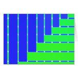 bluegreenweave grußkarte