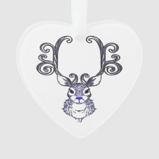 Bluenoser blaue Nase Renrotwild-Baumverzierung Ornament