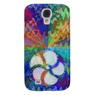 BlueRay Regenbogen BlumenChakra Galaxy S4 Hülle