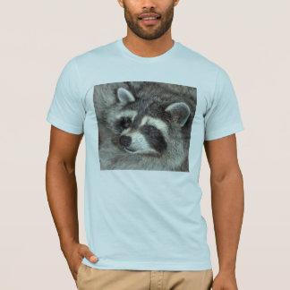 Blühen der bemerkenswerte Waschbär T-Shirt