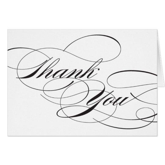 Blühen Sie danken Ihnen Empfangs-Zeichen Mitteilungskarte