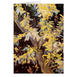 Blühende Akazien-Niederlassungen durch Vincent van Karte