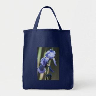 Blühende Iris-EinkaufsTasche Tragetasche