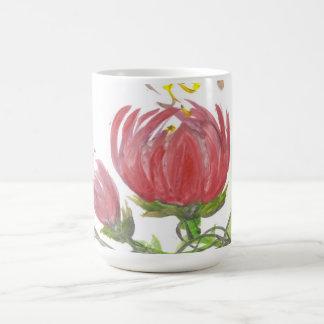 Blühende Lotus-Schale Kaffeetasse