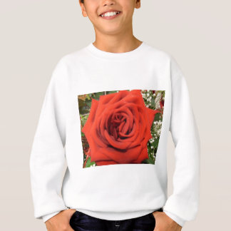 Blühende Rose Sweatshirt