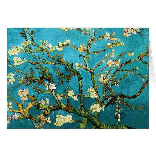 Blühende schöne Kunst Van Gogh des Mitteilungskarte