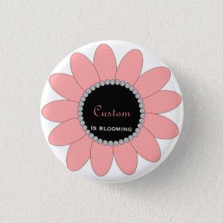 Blühender Knopf - fertigen Sie besonders an Runder Button 2,5 Cm