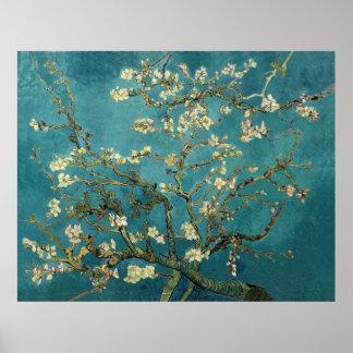 Blühender Mandelbaum - Van Gogh Poster