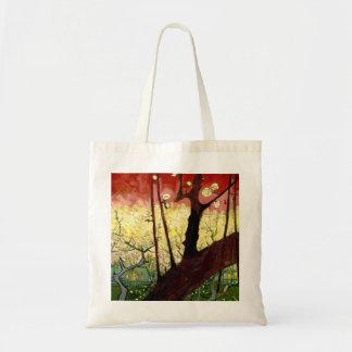 Blühender Pflaumen-Baum nach Hiroshige durch Van Tragetasche