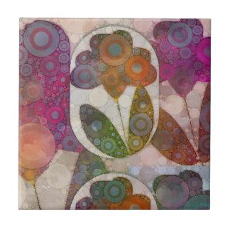 Blume abstrakt keramikkacheln