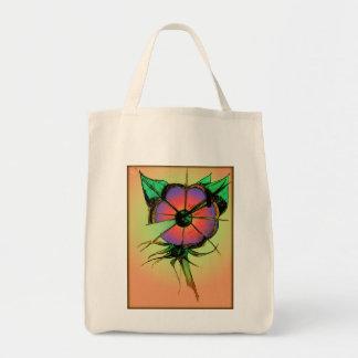 Blume abstrakt tragetasche