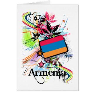 Blume Armenien Karte