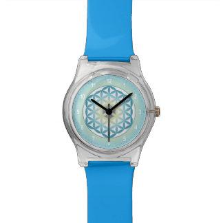 Blume der Leben-Gelee-Uhr Armbanduhr