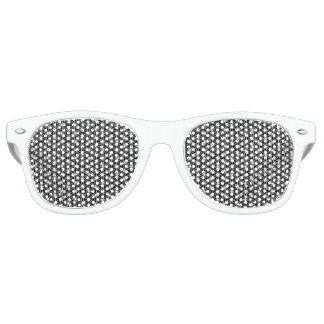 Blume der Leben-heiligen Geometrie Retro Sonnenbrillen