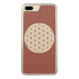 Blume des Lebens Carved iPhone 7 Plus Hülle
