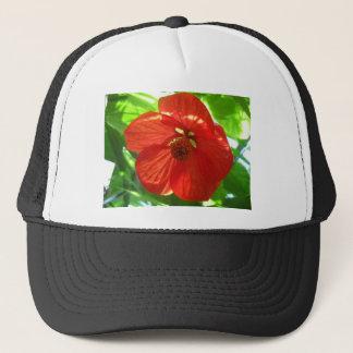 Blume des roten Ahorns Truckerkappe