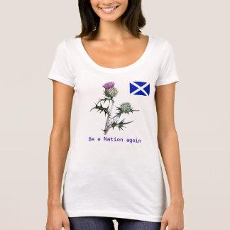 Blume des Schottland-Unabhängigkeits-T - Shirt