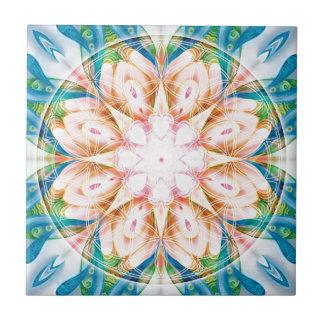 Blume Geschenke der Lebenmandala-11 Fliese