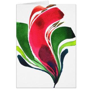 Blume Mini001 Notecard Karte