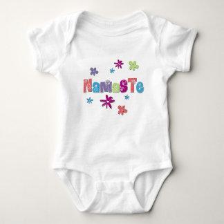 Blume Namaste Yoga-Shirt Babybody