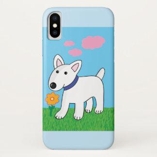 Blume Stier-Terrier-W kaum dort iPhone X Fall iPhone X Hülle