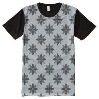 Blume T-Shirt Mit Komplett Bedruckbarer Vorderseite