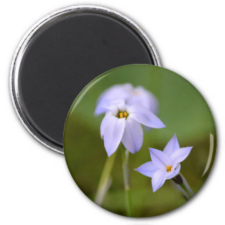 Blume und Blüte Runder Magnet 5,1 Cm