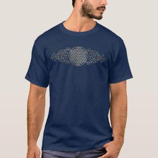 Blume von Leben-/Blume-DES Lebens - Vintages X T-Shirt