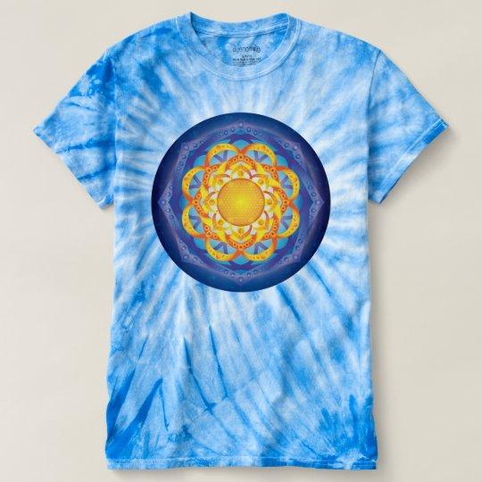 Blume von LebenMandala T-shirt