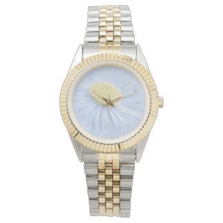 Blumen-Aster Armbanduhr