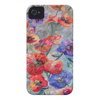 Blumen auf einem Gebiet des Grüns iPhone 4 Case-Mate Hüllen