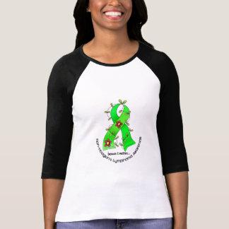 Blumen-Band NON-HODGKINS LYMPHOM T - Shirts