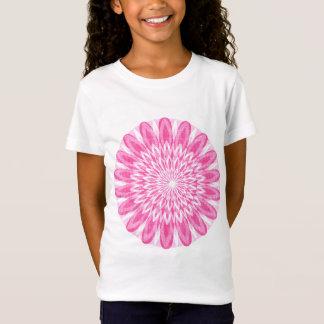 Blumen-Blumenrosa scherzt T-Shirt