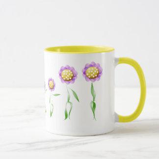 Blumen-Dame Animation Sequence Mug Tasse
