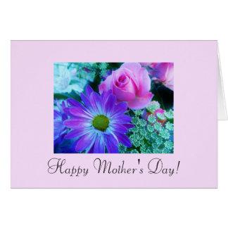 Blumen der Mutter Tages Karte