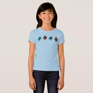 Blumen-Entwurfs-Grafiken durch Josephine nahmen T-Shirt