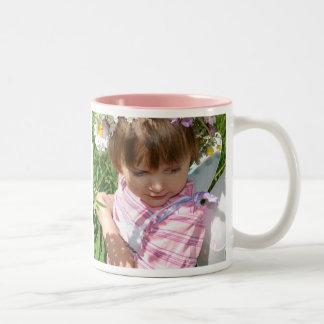 Blumen Fee Zweifarbige Tasse