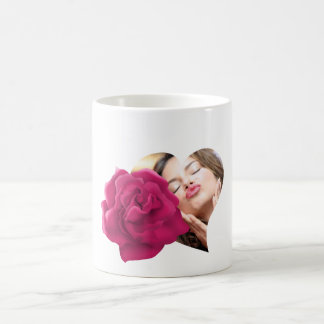 Blumen-Foto-Tasse Kaffeetasse