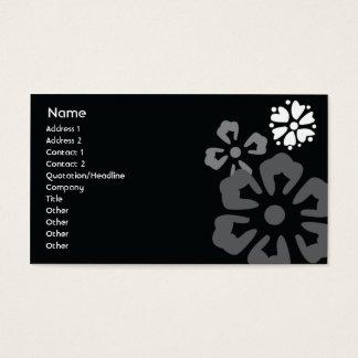 Blumen - Geschäft Visitenkarten