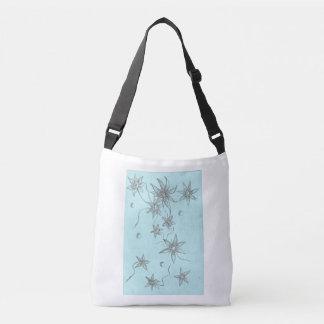 Blumen-Grafik-Tasche Tragetaschen Mit Langen Trägern