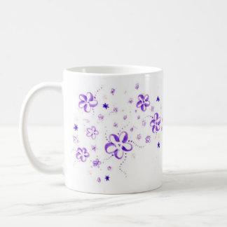 Blumen Kaffeetasse