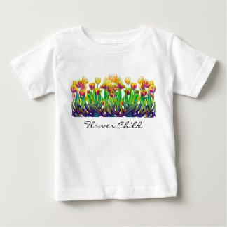 Blumen-KinderSäuglings-T - Shirt