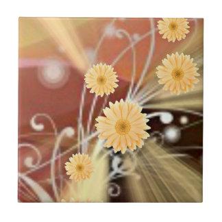 Blumen Kleine Quadratische Fliese