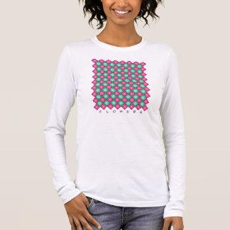 BLUMEN LANGARM T-Shirt