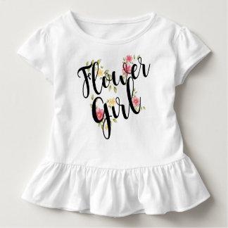 Blumen-Mädchen-Hochzeit Kleinkind T-shirt